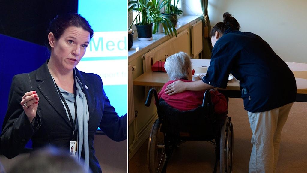 Lina Nordquist, Liberalernas sjukvårdspolitiska talesperson.