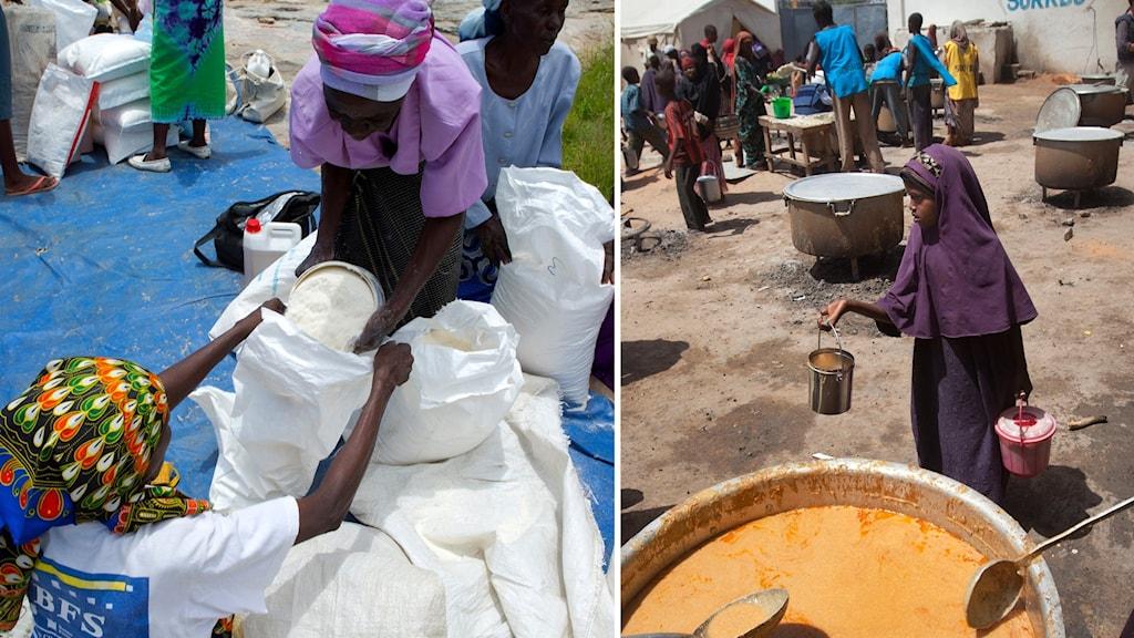 Coronapandemin kan leda till hungerkatastrofer