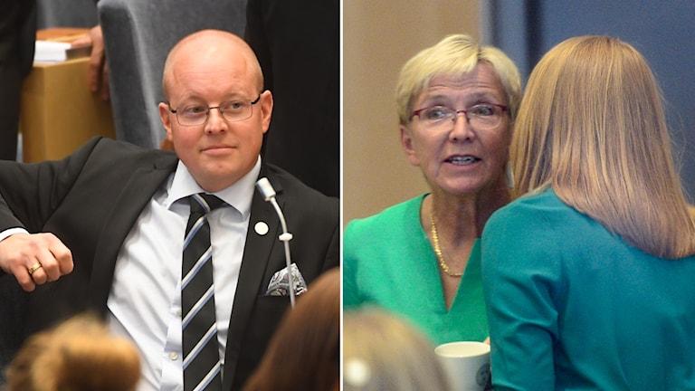 Björn söder SD iyo Kerstin Lundgren C.