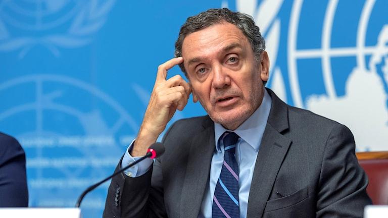 Utredningskommissionens ordförande Santiago Canton.