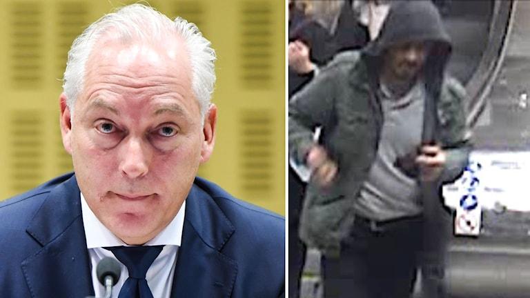 Rakhmat Akilov och advokat Johan Eriksson.