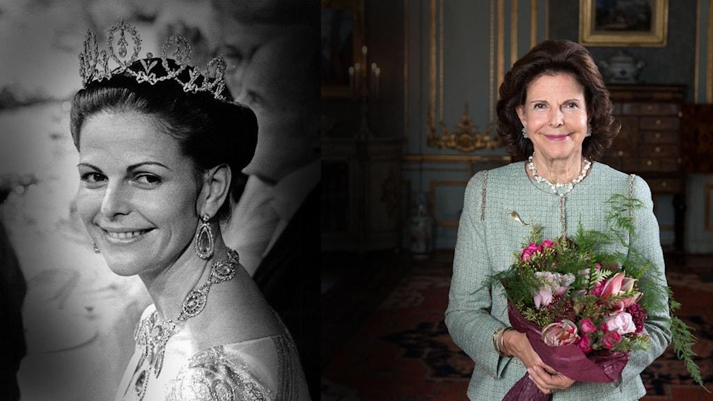 Drottningen 75 år i dag.