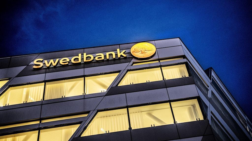 Swedbanks huvudkontor i Sundbyberg.