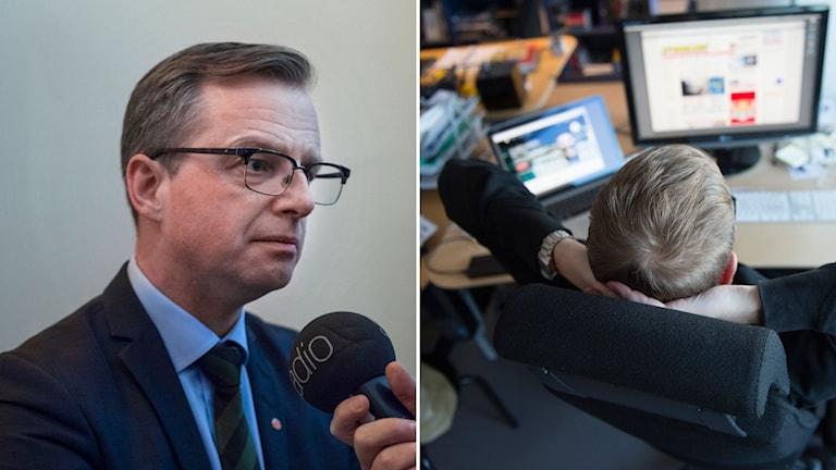 Närings- och innovationsminister Mikael Damberg (S)