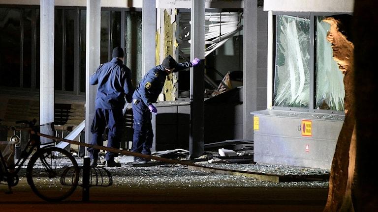 Helsingborg explosion