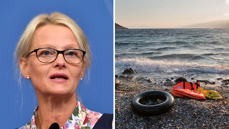 Helene Fritzon, migrationsminister.