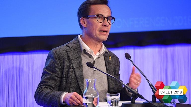 Ulf Kristersson. Foto: Henrik Montgomery/TT