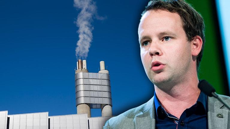 Centerns energi- och klimatpolitiske talesperson, Rickard Nordin