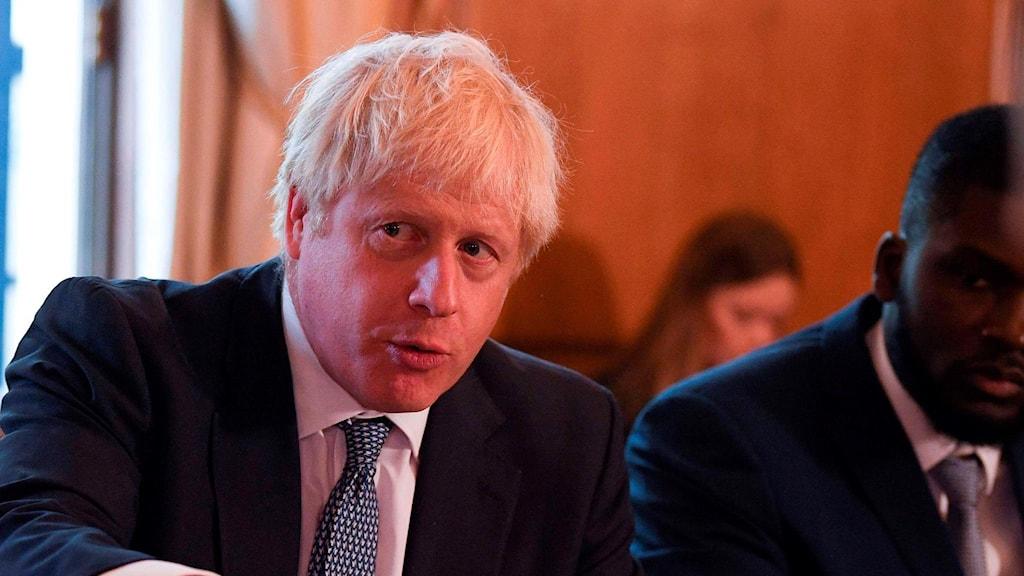 Boris Johnson, Storbritanniens premiärminister.