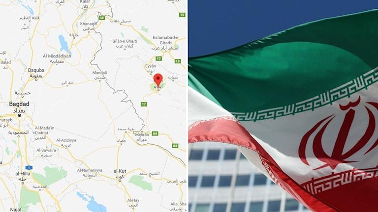 Flera skadade i jordskalv i västra Iran