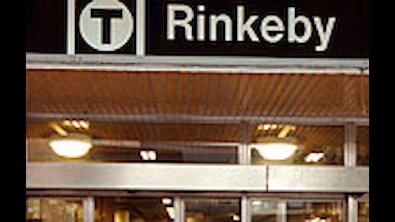 Rinkeby tunnelbanestation. Foto: Scanpix.
