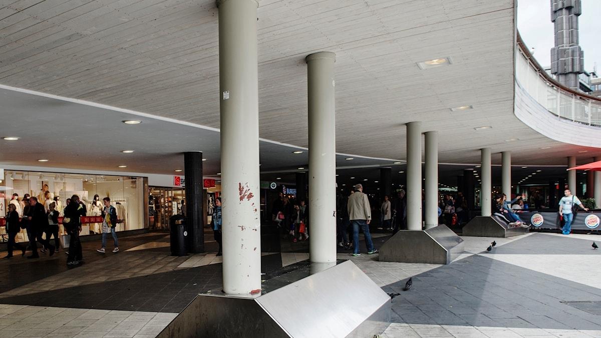 Sergels Torg, Stockholm. Foto: Pi Frisk/SvD/TT.