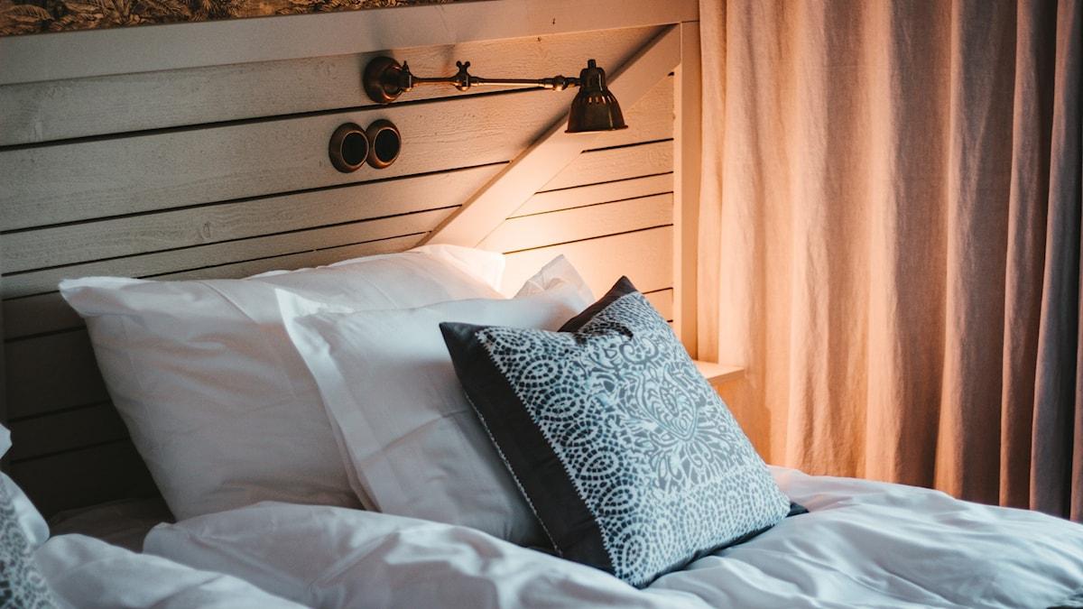 Arkivbild – ett hotellrum i södra Sverige. Hotellet på bilden har inget med inslaget att göra.