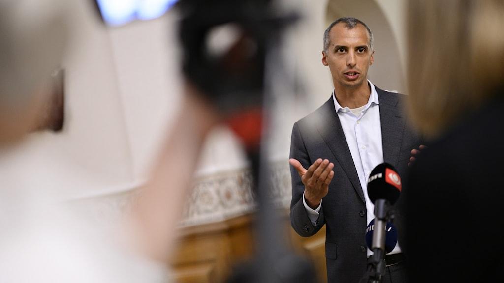 Danmarks invandrings- och integrationsministern Mattias Tesfaye (S).