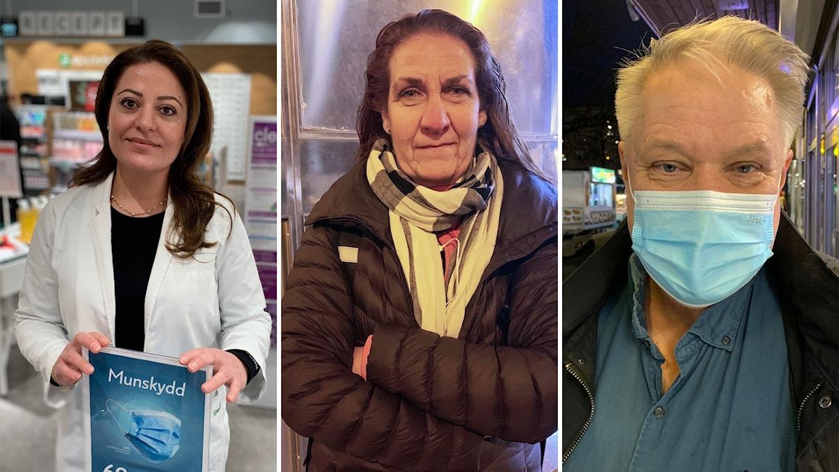 Tre ansikten