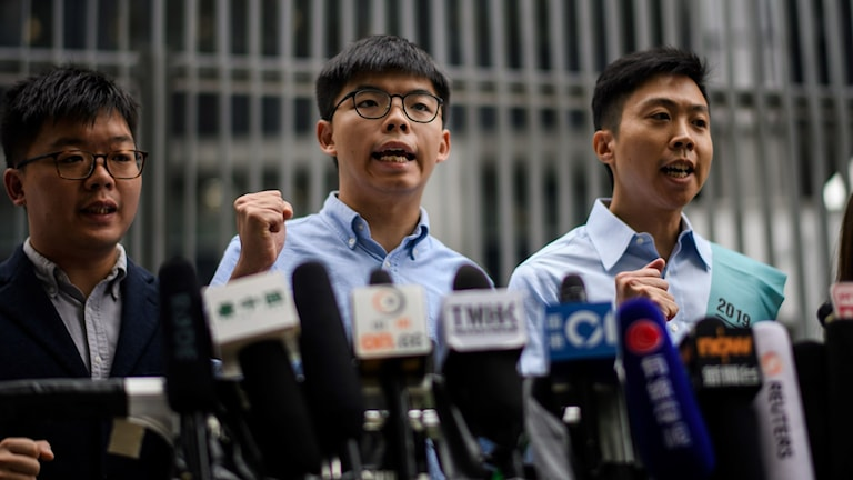 Joshua Wong, demokratiaktivist