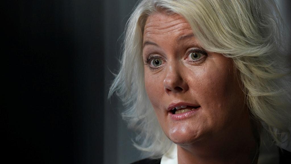 Lena Rådström Baastad, partisekreterare Socialdemokraterna