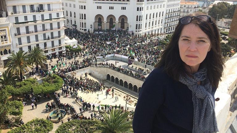 Sveriges Radios utsända Margareta Svensson finns på plats i huvudstaden Alger.