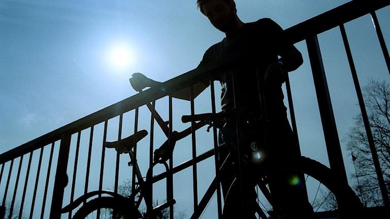 Cykelstöld.
