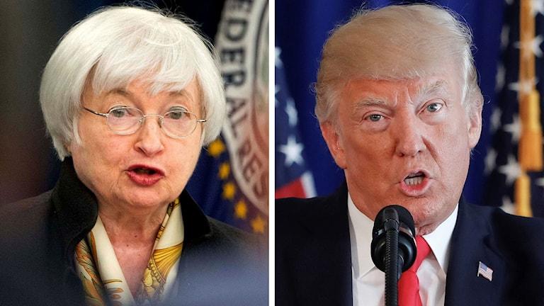 När Federal Reservres Janet Yellens mandat slutar, ska Donald Trump utse en ny ordförande.