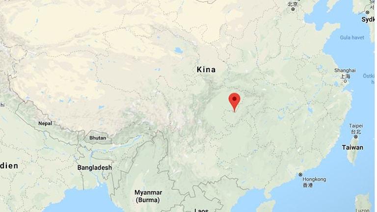Kina knivattack karta