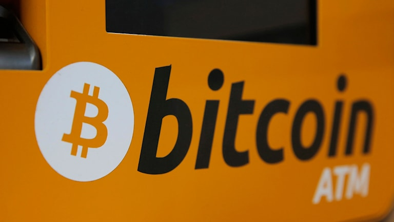 En bitcoin-bankomat.