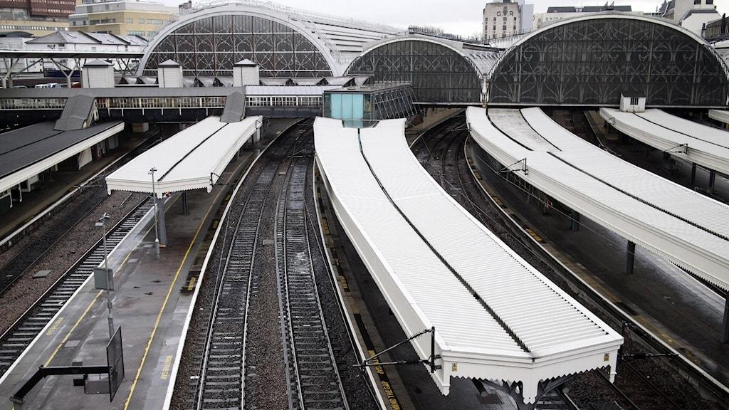 Paddingtonstationen i London.