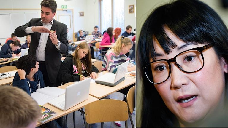 Flickor är betydligt bättre än pojkar på att samarbeta. Resultatet för de svenska eleverna ligger i linje med hur Sverige presterade i den stora PISA-mätningen senast.