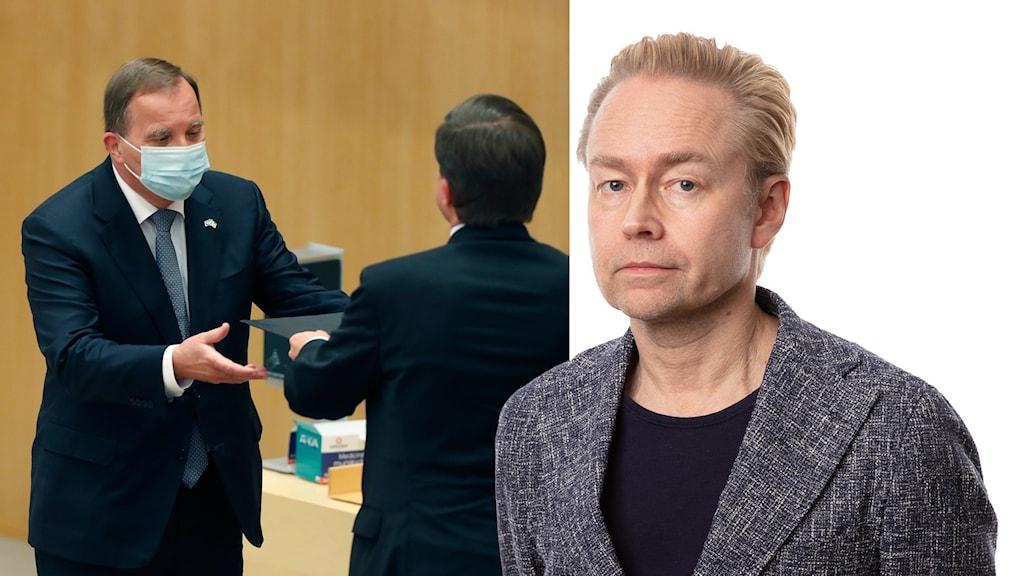 Stefan Löfven och Fredrik Furtenbach