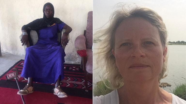 Halima var 15 år när hon gifte sig. Hennes man tog med henne till ett terrorläger och sa att hon skulle bli sjävmordsbombare. De hade skurit halsen av mig om jag hade vägrat, säger hon.