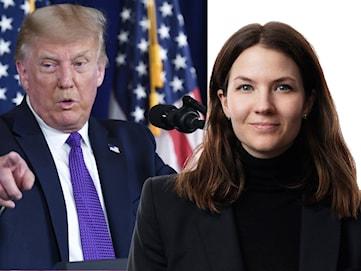 """Cecilia Khavar: """"Trump lyfter fram att han slagits för vanligt folk"""""""