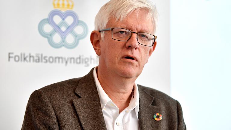 Johan Carlson, Folkhälsomyndighetens generaldirektör.