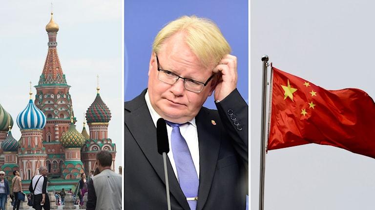 Kina och Ryssland - stora orosmoln för Sveriges säkerhet