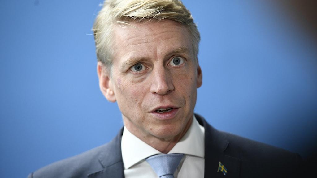 Finansmarknadsminister Per Bolund (MP)