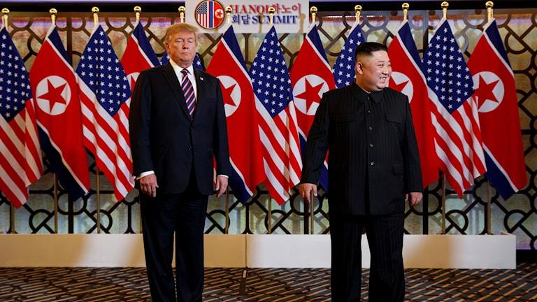 Trump och Kim