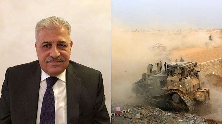 Nineveprovinsens förre guvernör Atheel al-Nujaifi som avsattes efter att IS tagit Mosul.