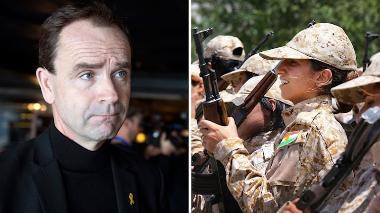 Widman och Peshmerga