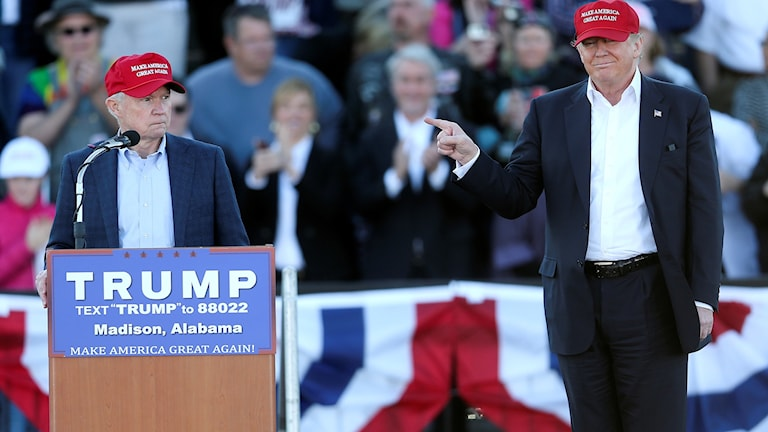 Jeff Sessions kan bli Donald Trumps val som justitieminister.