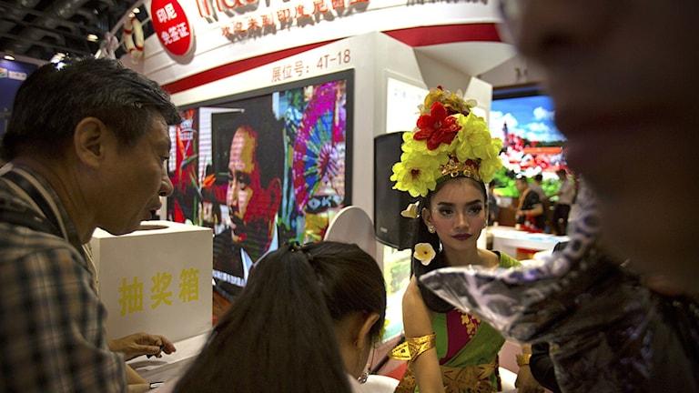 Resandet i Kina ökar nu bland grupper som gör sina första utlandsresor, däribland nyblivna pensionärer från Kinas mindre städer.