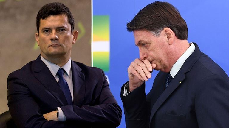 Brasilien har kastats in i en djup politisk kris efter att justitieminister Sergio Moro avgick igår. Moro anklagar president Jair Bolsonaro för att ha försökt lägga sig i den federala polisens arbete