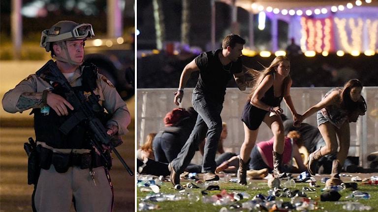 Vegas skjutning