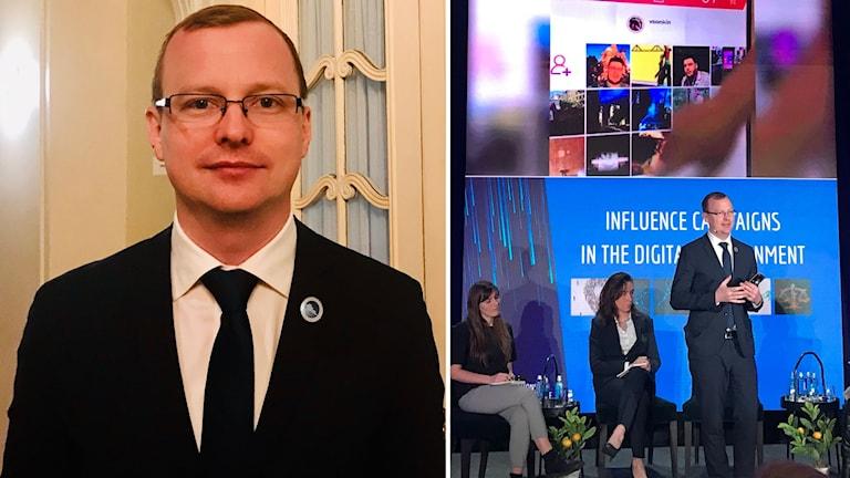Sebastian Bay expert på desinformation vid Nato Stratcom i Riga