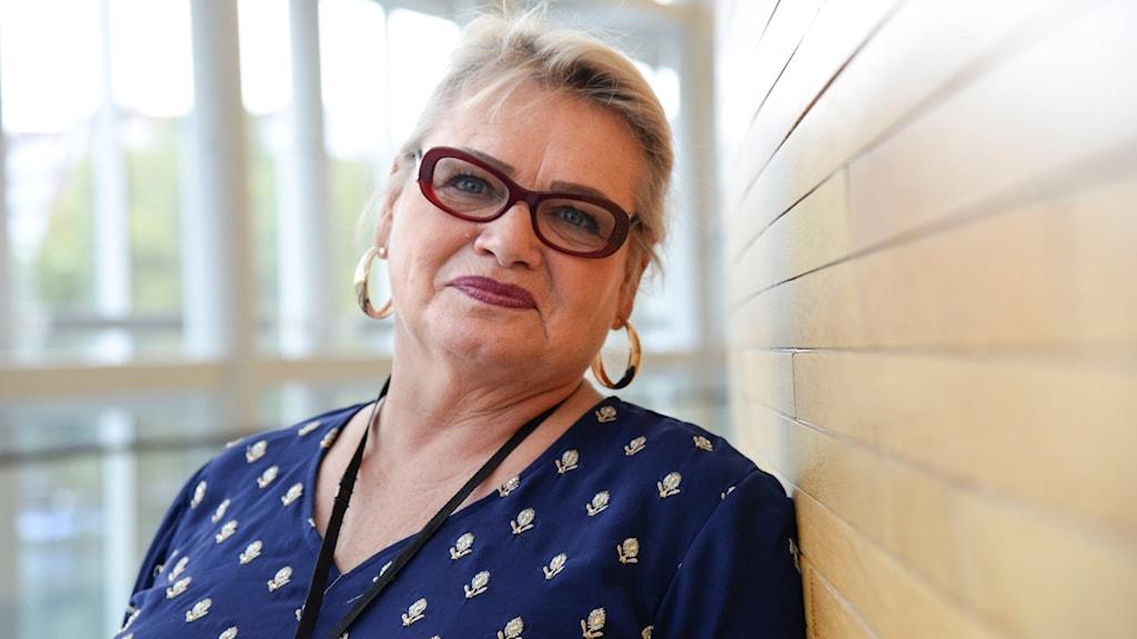 Soraya Post (Fi) i EU-parlamentet.