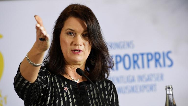 Ann Linde, Sveriges Europaminister.