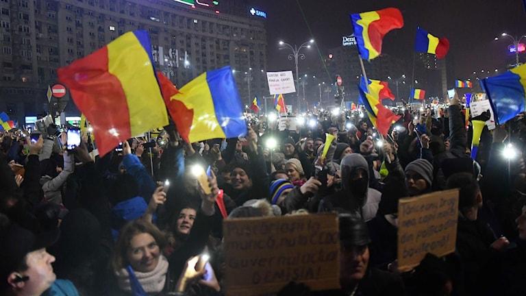 demo-rumänien-foto-Daniel-Mihailescu--AFP-TT