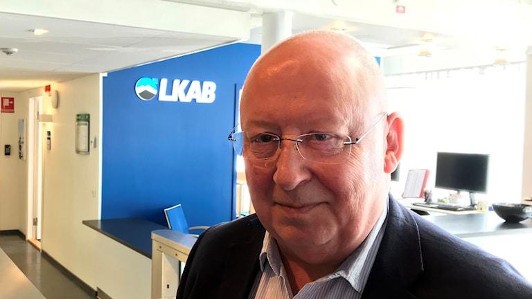 Bo Krogvig, kommunikationsdirektör LKAB