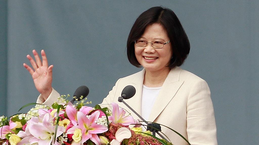 Svor presidenteden idag - Tsai Ing-wen