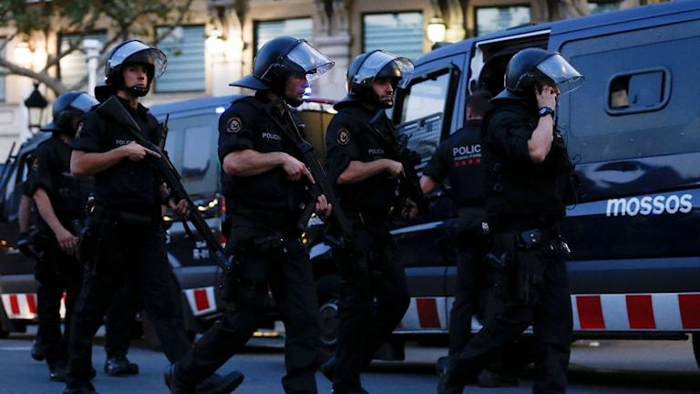Spanska poliser.