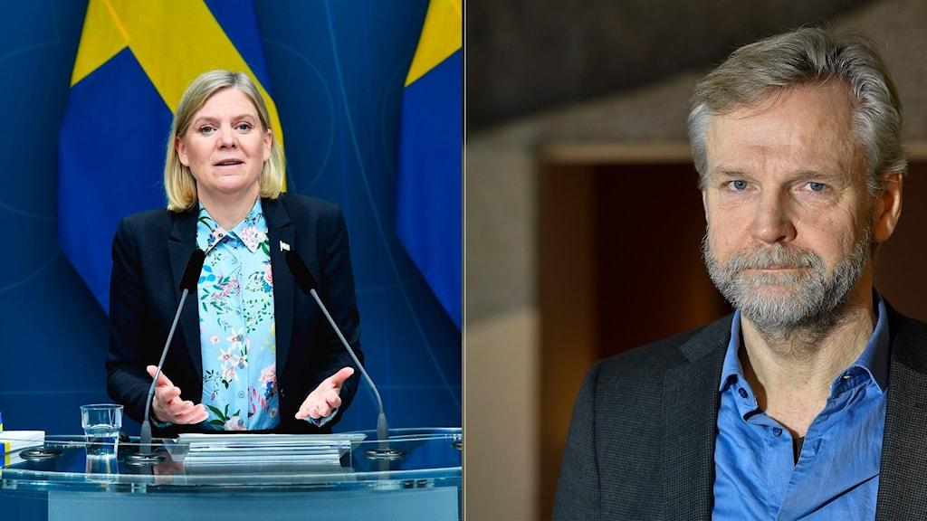 Magdalena Andersson och Tomas Ramberg