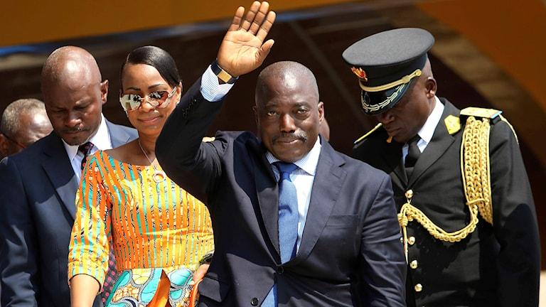 Joseph Kabila, Kongo-Kinshasas president.